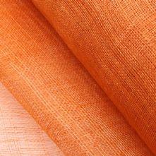 Bright Orange Sinamay